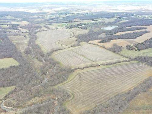 136 Acres Farm For Sale Wapell : Ottumwa : Wapello County : Iowa