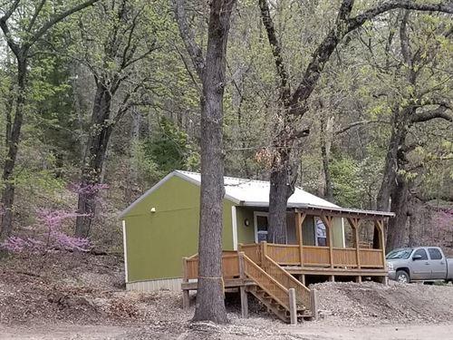 Cabin Hideaway Eureka Springs : Eureka Springs : Carroll County : Arkansas