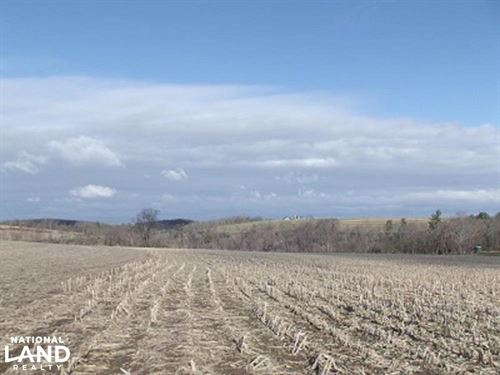 6.87 Acres by Blackhawk Lake : Highland : Iowa County : Wisconsin
