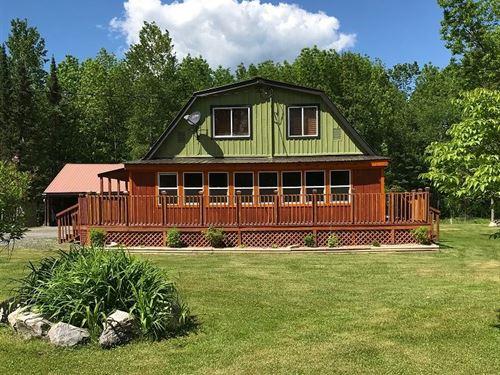 Country Home Located Ray Minnesota : Ray : Koochiching County : Minnesota