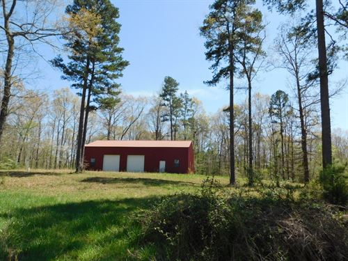 TN Hobby Farm, Pasture, Barn, Shop : Selmer : McNairy County : Tennessee