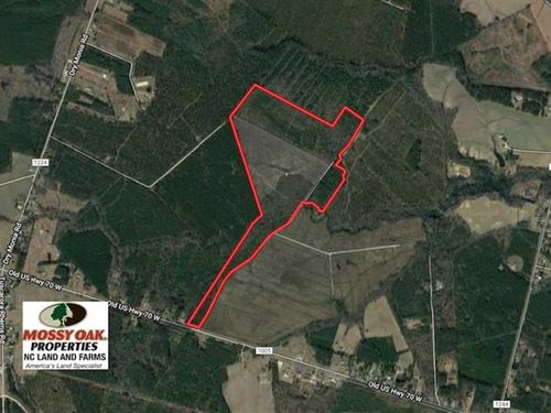 111 Acres of Hunting And Timber LA : New Bern : Craven County : North Carolina