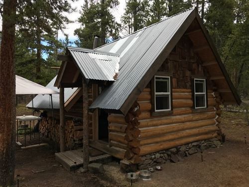 Mountain Hunting Cabin On 9 Acres : Gunnison : Colorado