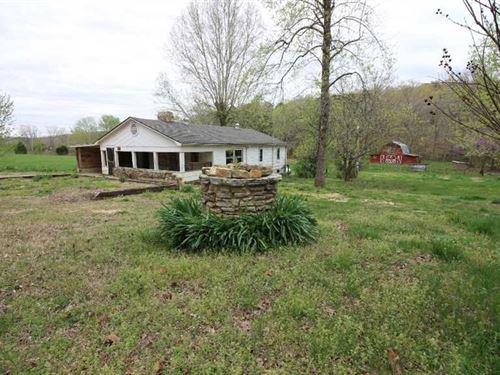 5 Acres With Residential Home For : Van Buren : Carter County : Missouri