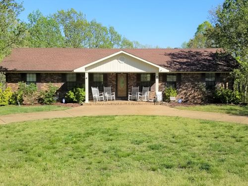 Country Home, 17 Acres Linden, TN : Linden : Perry County : Tennessee