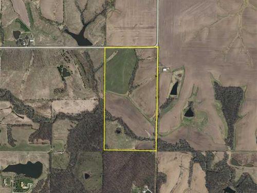 80 Ac, Farm For Sale, Jefferson CO : Fairfield : Jefferson County : Iowa