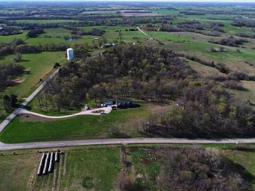 Custom Country Home 21 Acres Henry : Montrose : Henry County : Missouri