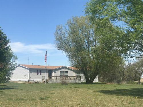 Home 5 Acres, North Central : Newkirk : Kay County : Oklahoma