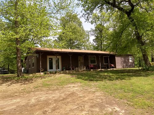 Log Cabin Home For Sale, Antlers Ok : Antlers : Pushmataha County : Oklahoma