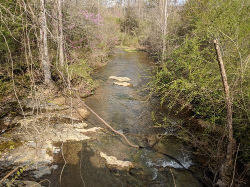 142+/- Acres With 3 Lakes : Rockmart : Polk County : Georgia
