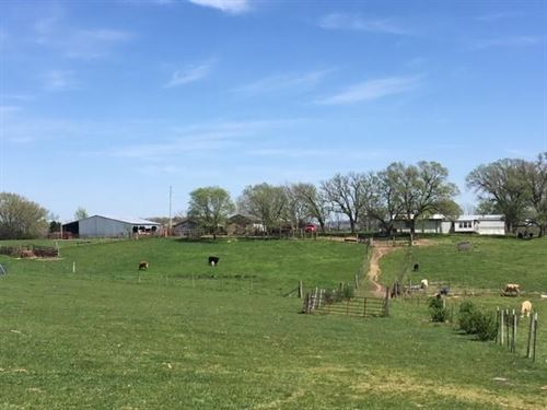 Beautiful Cattle Farm 107 Acres : Vanzant : Douglas County : Missouri