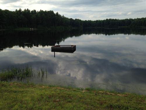 Timber Lake Building Lot, Catskill : Highland : Ulster County : New York