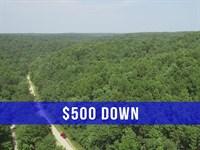 $500 Down On Ozark Land : Birch Tree : Shannon County : Missouri