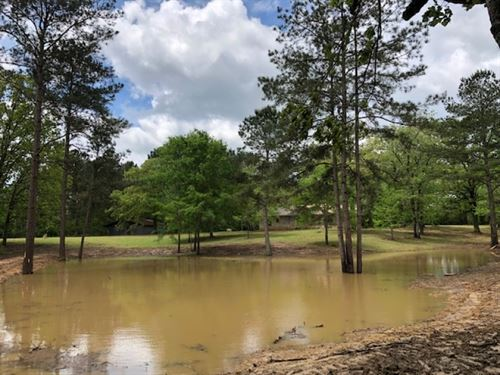 Home And 33 Acres With Nice Pond : Jayess : Walthall County : Mississippi