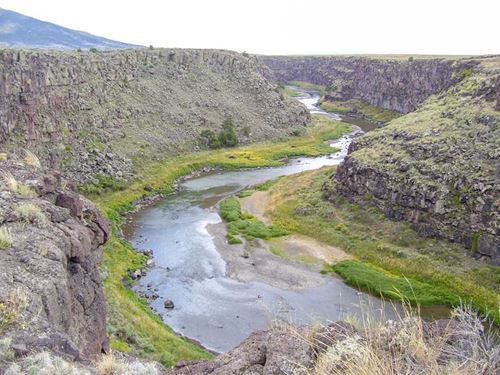 Rio Grande Gorge Ranch : Jaroso : Costilla County : Colorado
