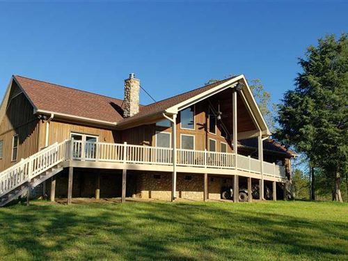 40.51 Acres + Custom 2Bd House : Lancaster : South Carolina