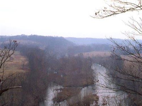 3/4 Mile Riverfront Wooded Property : Nixa : Christian County : Missouri