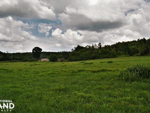 Robertson Road Pasture And Homesite : Piedmont : Calhoun County : Alabama