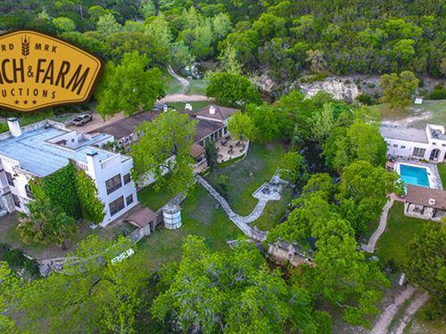 The Escondida Resort And Spa is : Medina : Kerr County : Texas