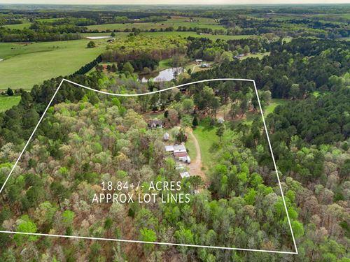4 Historic Homes On 18+ Acres : Good Hope : Morgan County : Georgia