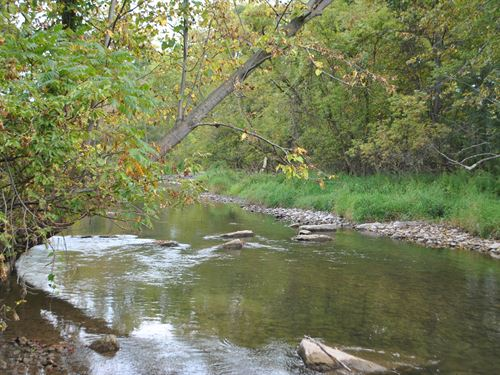 Riverfront Large Acreage : Chittenango : Madison County : New York