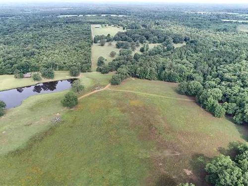 996.751 Acre Taylor Mudd Creek Hun : Reklaw : Cherokee County : Texas
