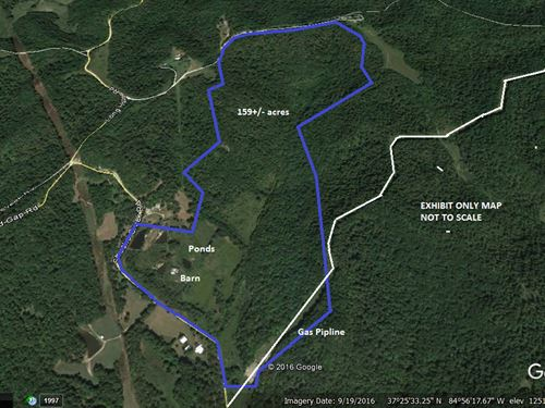 Land For Sale Liberty KY 159 Acres : Liberty : Casey County : Kentucky