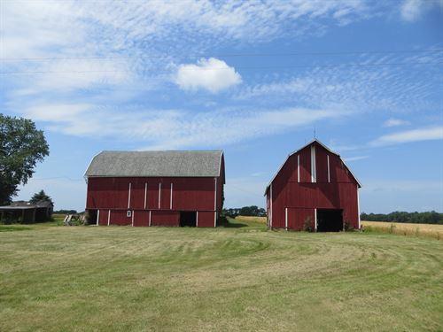 Cheslea Historic Farm On 80 Acres : Dexter : Washtenaw County : Michigan
