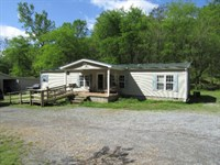 39+Ac, Home, Pole Barn, Creek, Pond : Whitleyville : Jackson County : Tennessee