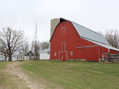 4Br Country Home Acreage in Motley : Motley : Cass County : Minnesota