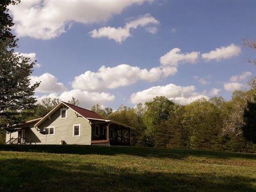 Mini Farm Completely Renovated Home : Bassett : Henry County : Virginia