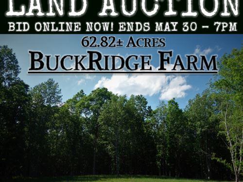 Buckridge Farm : Ridgeway : Fairfield County : South Carolina