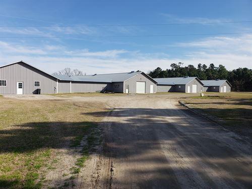 Beautiful Breeder Poultry Farm : Branchville : Orangeburg County : South Carolina
