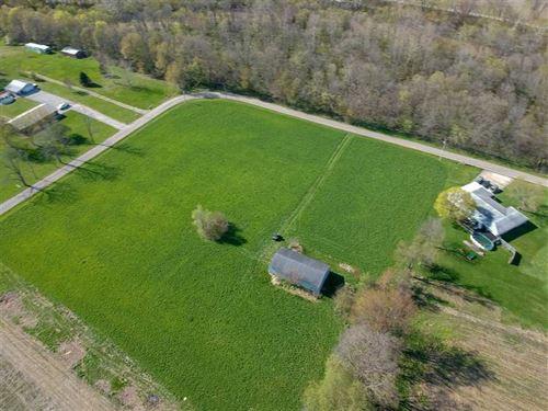 10 Acre Building Site With Barn AL : Roann : Miami County : Indiana