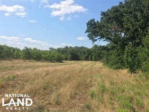 Oak Spring Ranch 40 Ac, Rolling, Ti : Eustace : Van Zandt County : Texas