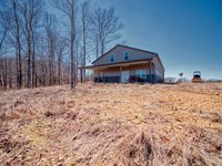450 Acres With Sportsman's Lodge : Dover : Stewart County : Tennessee