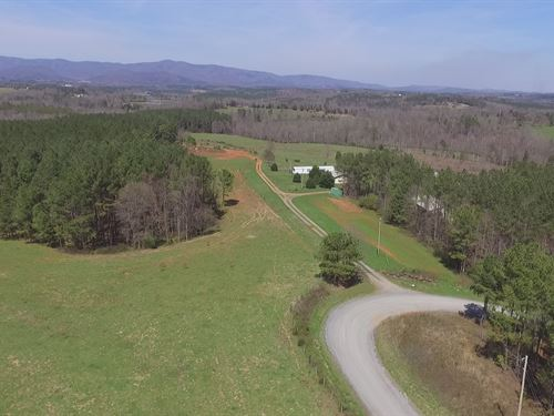 Beautiful Farm W/Exceptional Views : Shelby : Cleveland County : North Carolina