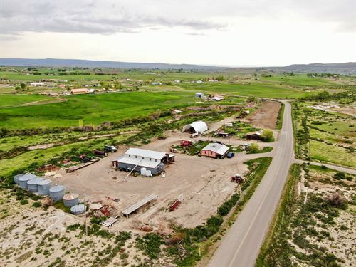 Custom Farming & Haying Business : Paonia : Delta County : Colorado