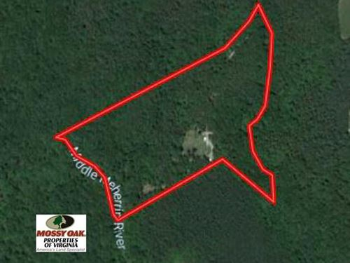 25 Acres of Hunting And Residentia : Drakes Branch : Lunenburg County : Virginia