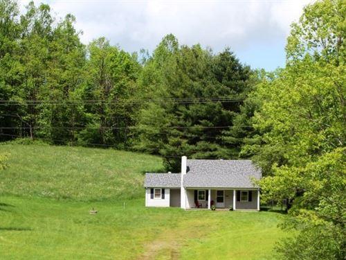 House 12.55 Acres Located Patrick : Meadows Of Dan : Patrick County : Virginia