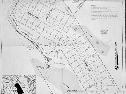 Land Great For Builder Or Developer : Monroe : Walton County : Georgia