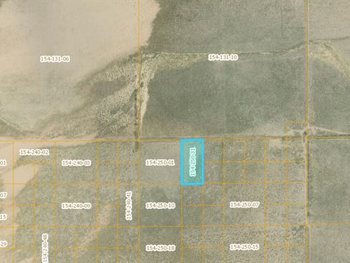5 Acres In Kern County, Ca : Old Garlock : Kern County : California