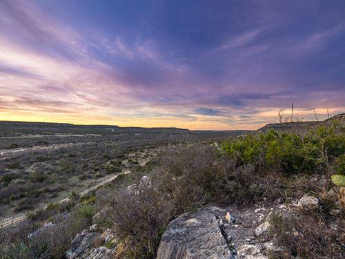 Turnkey Sportman's Paradise : Sanderson : Terrell County : Texas
