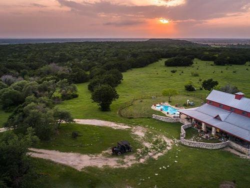 Mountaintop Ranch : Hico : Hamilton County : Texas