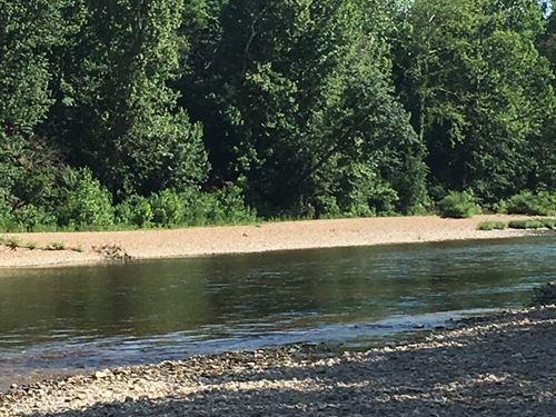 Waterfront Land in Arkansas : Eureka Springs : Carroll County : Arkansas