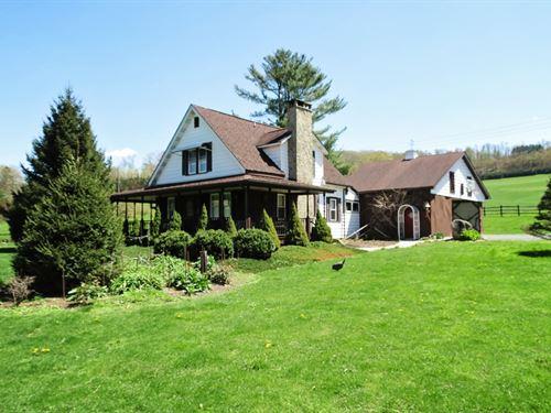 Farm Acreage + Mineral Acres : Emporium : Cameron County : Pennsylvania