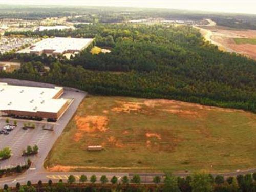 Pad Ready Retail Land : Athens : Oconee County : Georgia