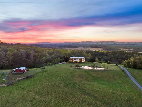 39+/- Acre Gentleman's Farm : Athens : McMinn County : Tennessee