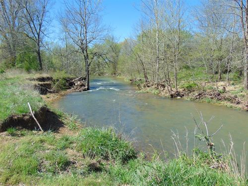 Arkansas River Front Farm For Sale : Glencoe : Fulton County : Arkansas
