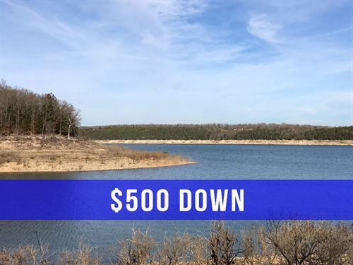 $500 Down On Land At Lake : Cedarcreek : Taney County : Missouri